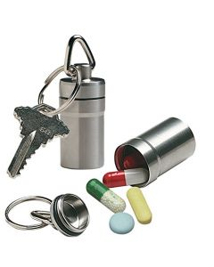 Small Image Ezy Dose Keychain Pill Fob