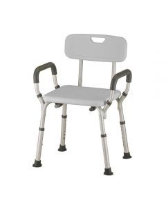 Bath Chair With Removable Back And Arms