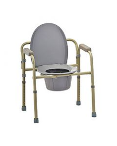 Small Image 3-in-1 Folding Commode