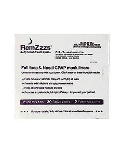Small Remzzzs Nasal Liner K12-Nl 30 Pack K12-NL
